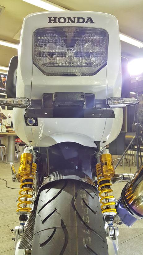 ガラスコーティング CB1300SB バイクの傷消し 埼玉
