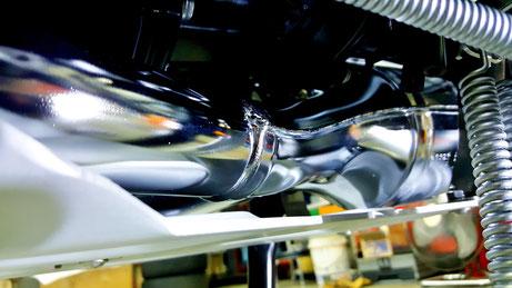R1200GSのマフラー・下回りのコーティング 埼玉所沢 浦和 春日部