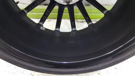 AMG・C63のホイールコーティング 埼玉の車磨き専門店 ブレーキダスト除去 焼付き防止