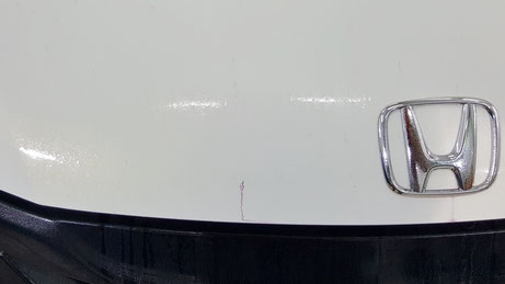 S660のトランクの鉄粉