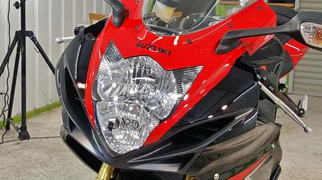 GSX-R750 バイクコーティング 埼玉のバイク磨き専門店・アートディテール