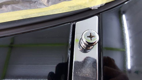 ロードスターの黒ずみ・水垢汚れ除去 塗装の曇り改善