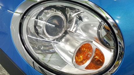 BMWミニR56のヘッドライトリペア後