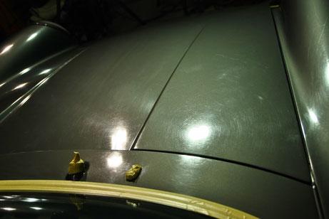 ポルシェ964の塗装がシミでボコボコ 酸性クレーター 空冷ポルシェ