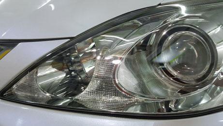 ヘッドライトが綺麗になったレクサス 埼玉の車磨き専門店でヘッドライト研磨 アートディテール
