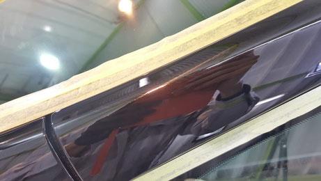 アルファード 深い傷 202ブラック 濃色車 埼玉の車磨き専門店