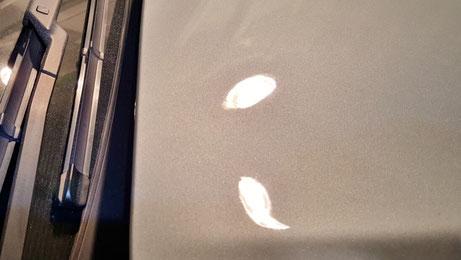 シトロエンDS5のシミ・クレーター除去 埼玉の車磨き専門店 ウォータースポット 研磨 イオンデポジット