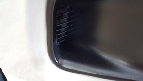 S660のサイドエアーダクトの洗浄後