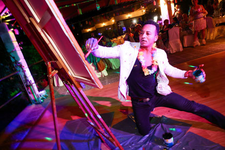 Life-Time.Events Eventaktion Live-Painting