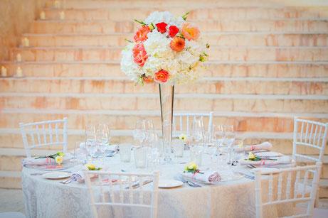 Life-Time.Events Hochzeitstisch Tischdekoration Hochzeitsdekoration