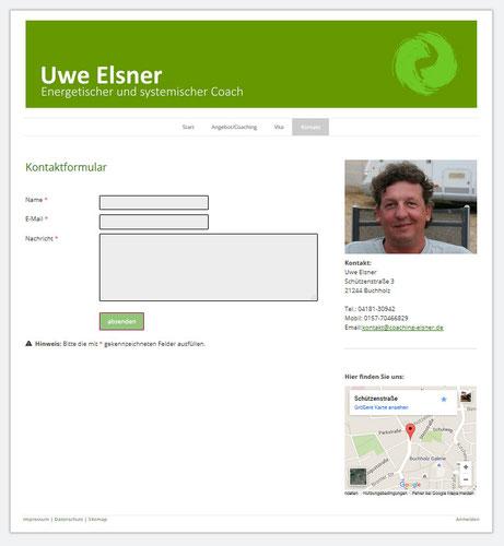 Kontaktformular www.coaching-elsner.de (by - www.rossi-internet.de)