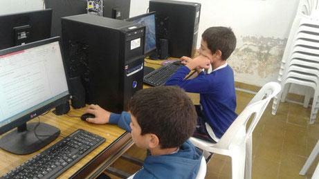 """Computerraum in der Schule """"Ceibos Floridos"""""""