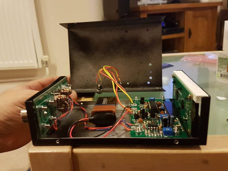 Digital SWR meter fitting the screen