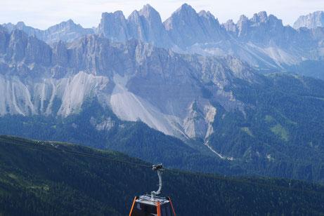 Bergansicht in Südtirol