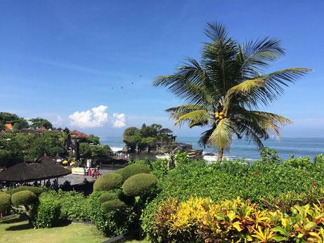 Der berühmte Tempel Pura Tanah Lot