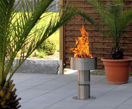 Fire-Pot offenes Feuer