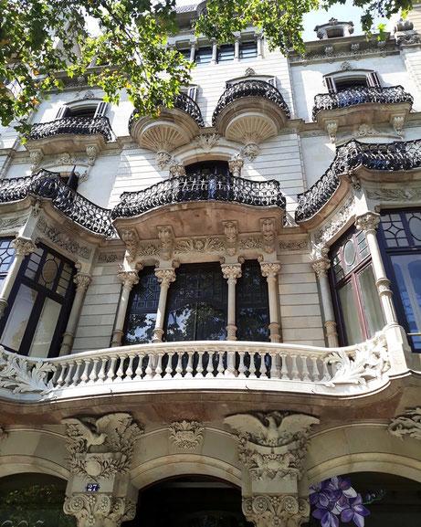 Дворец Малагрида в Барселоне
