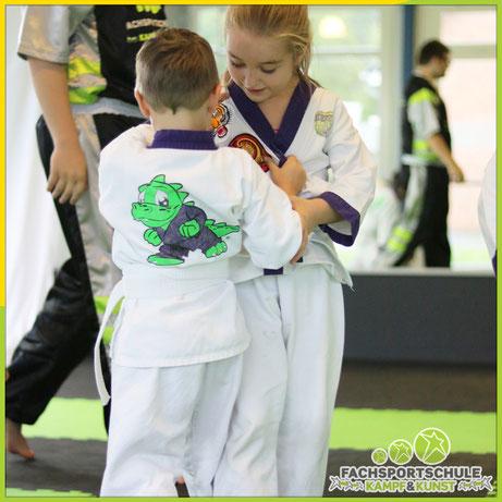 Kinder Karate - Karate KampfKunst & Kampfsport für jedes Alter - Tiger oder Drache