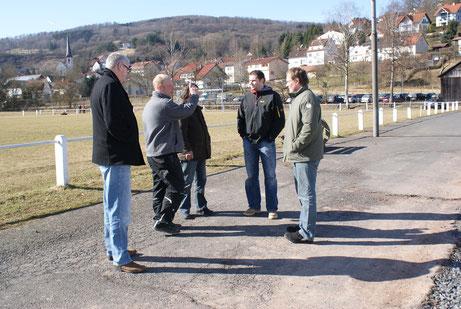 Dirk Schiefer und Thomas Sellmeier und Co von der VFDU