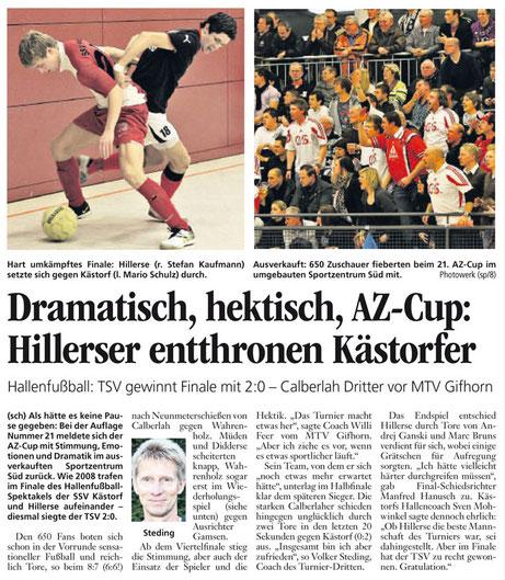 (Quelle: Aller-Zeitung vom 28.12.2010)