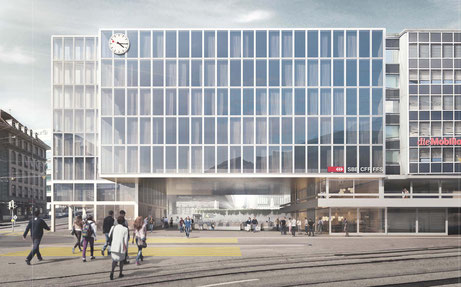Visualisierung Siegerbild (Büro B Architekten AG / Nightnurse)