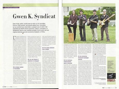 juillet 2012. Trad Mag.