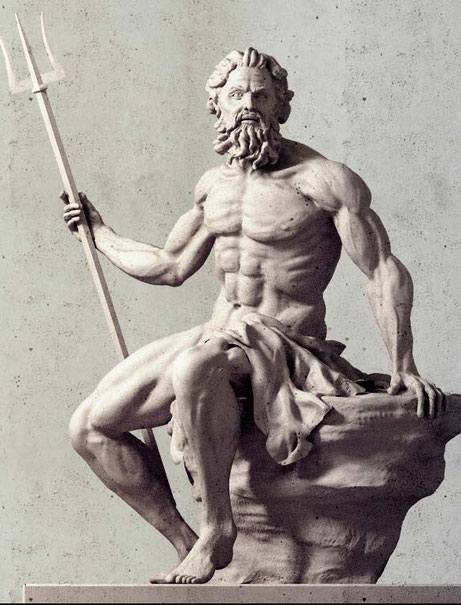 Kevin Hays: Poseidon's Scolpture project, 2011, Copenhagen Port