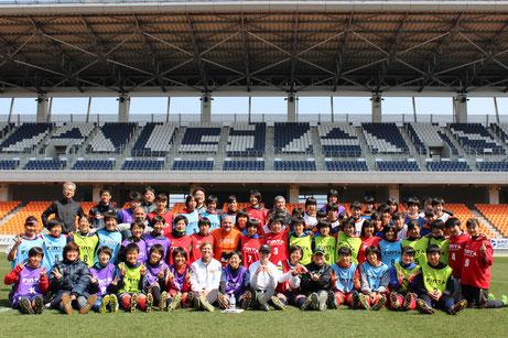 米国大学女子サッカーセレクションキャンプ SDSA