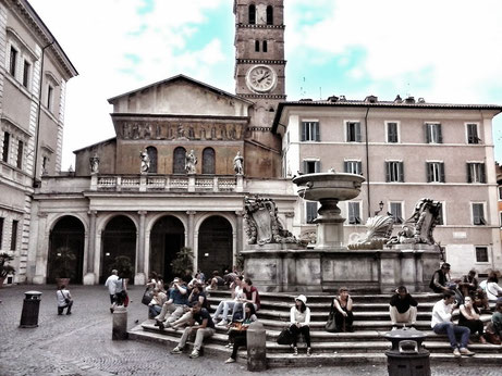 экскурсия в Риме по Трастевере