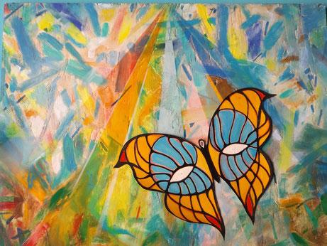 """Farfalla sulla strada costiera"" by Gianpiero Actis, Italy"