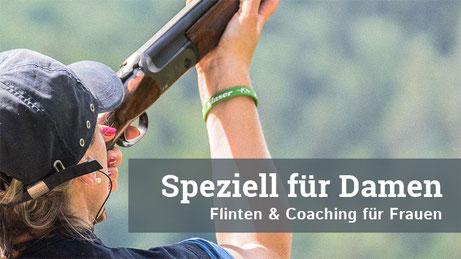 Speziell für Damen   Flinten & Coaching für Frauen