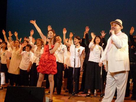 The Mandums and Joyful Spring Gospel Choir ジョイントライブ