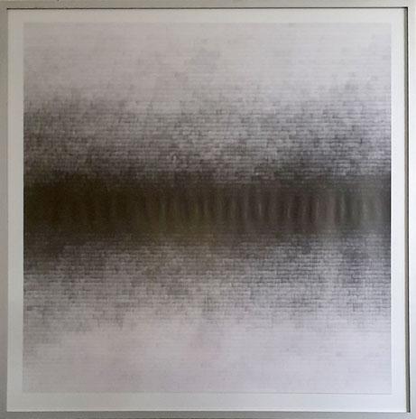 Gewebe III, 2020, Bleistift auf Papier, 90 x 90 cm