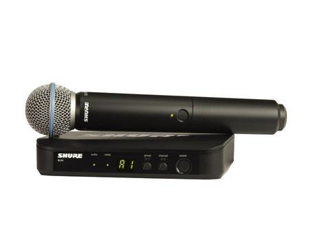 Funkmicrofon (schnurloses Microfon) mieten für Hochzeit, Events, Geburtstage, Firmenevents.