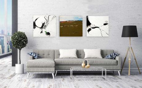 s/w bilder kaufen 70 x 70 cm