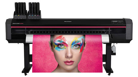 Mutoh ValueJet 1624X EcoSolvent Drucker Grossformat Digitaldruck by GOIT