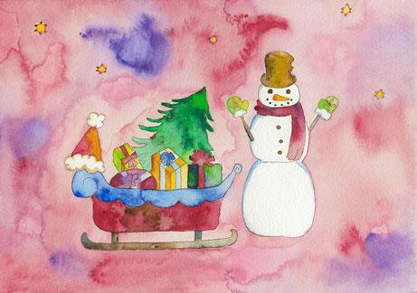 2014年作品「Christmas song」