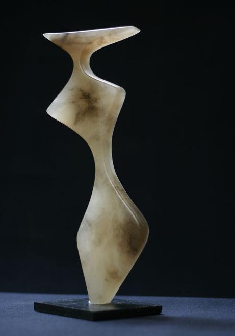 Heidrun Feistner: Die Karamellen - 1 / Alabaster karamell / Foto HF