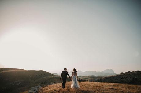 Zu zweit einfach Durchbrennen oder mit vielen Gästen heiraten?