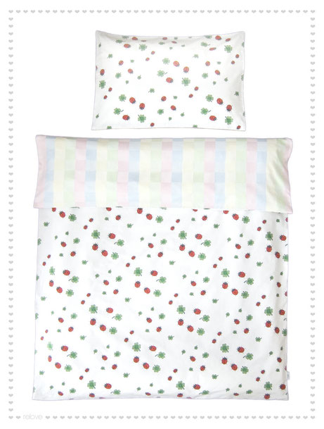 Schöne retro Kinderbettwäsche
