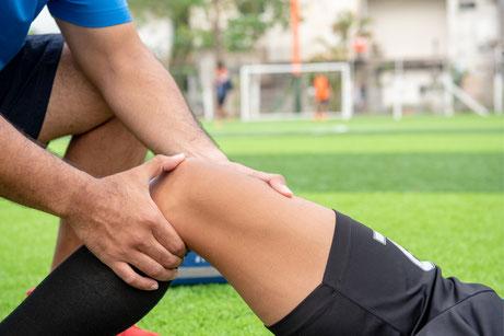 Behandlung von Sportverletzungen mit Faszientherapie