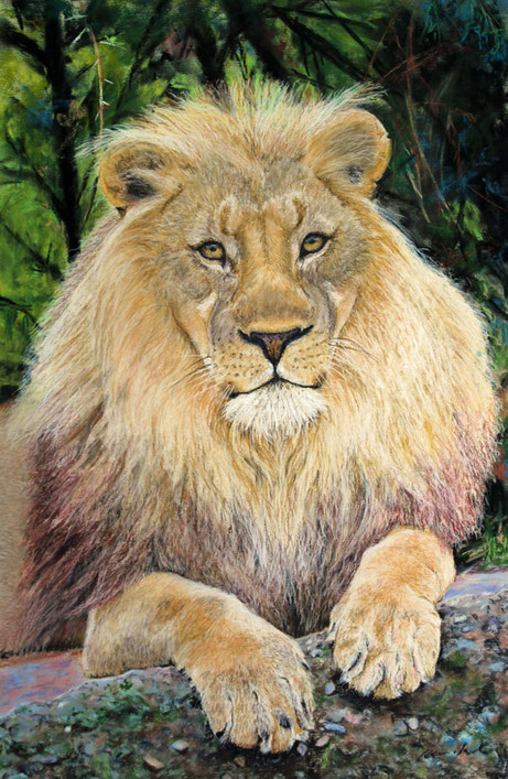 """Mbali"" Pastell, SOLD"