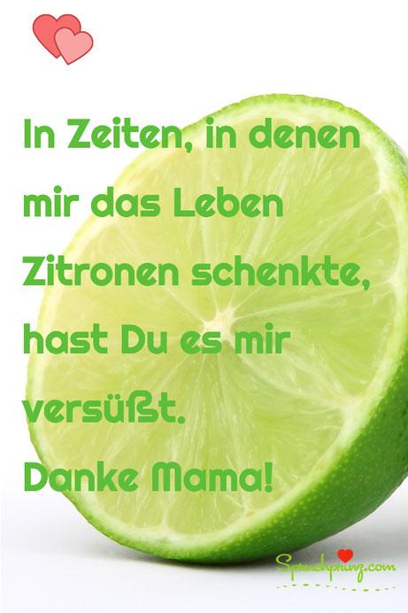 Danke Mama Zitate