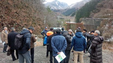 防ダム利用の須坂市米子