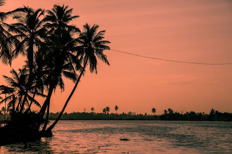 Sunset at Cochin Beach