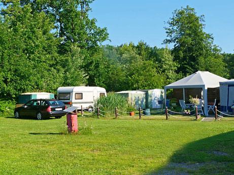 Gepflegte Jahres- oder Dauercampingplätze