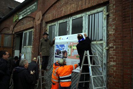 Das freut die Leut' : Die Sanierung des Alten-E-Werks in der Brunnenstraße beginnt. Sie wird über eine Million Euro kosten und soll Ende nächsten Jahres abgeschlossen sein.