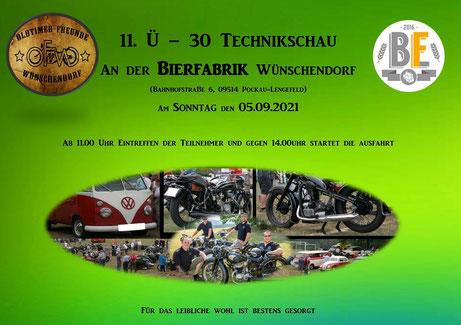 Bild: Technikschau Wünschendorf 2021