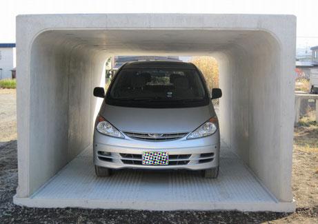 YCカーポートいろんな用途に使えるサイズなので、使い方いろいろです。