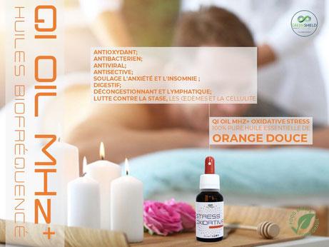 Huile Bio-Fréquence QI Oil Stress Oxidatif